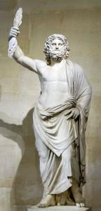 Estátua de Júpiter de Smyrna (séc. II a.C.) - Museu do Louvre